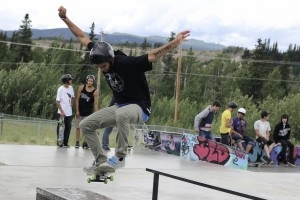 Skate Comp celebrates Canada's b-day with wicked tricks and big crowds
