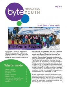 2016-2017 Newsletter