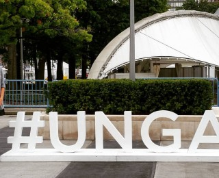 Angela returns from United Nations Sustainable Development Summit in New York